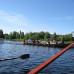 Tervasoutu - Rowing tar to Oulu